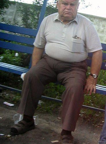 Senior bulge old