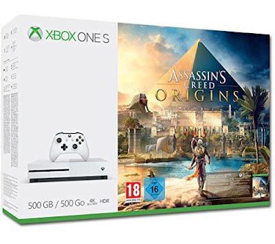 Xbox One S 500 GB + Assassin's Creed Origins