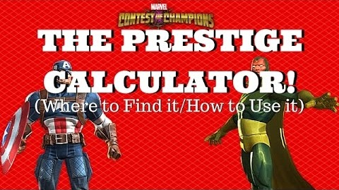 Prestige Explained + How To Calculate Your Prestige - MCOC