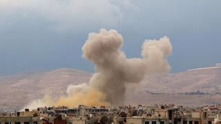 Rezim Syiah Nushairiyah Gunakan Gas Klorin Untuk Bumi Hanguskan Umat Islam Suriah