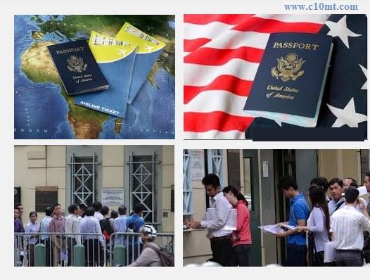 Cách làm thủ tục xin visa đi Mỹ dễ dàng nhất www.c10mt.com