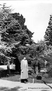 Clermont-Ferrand : le jardin Lecoq, 1931.