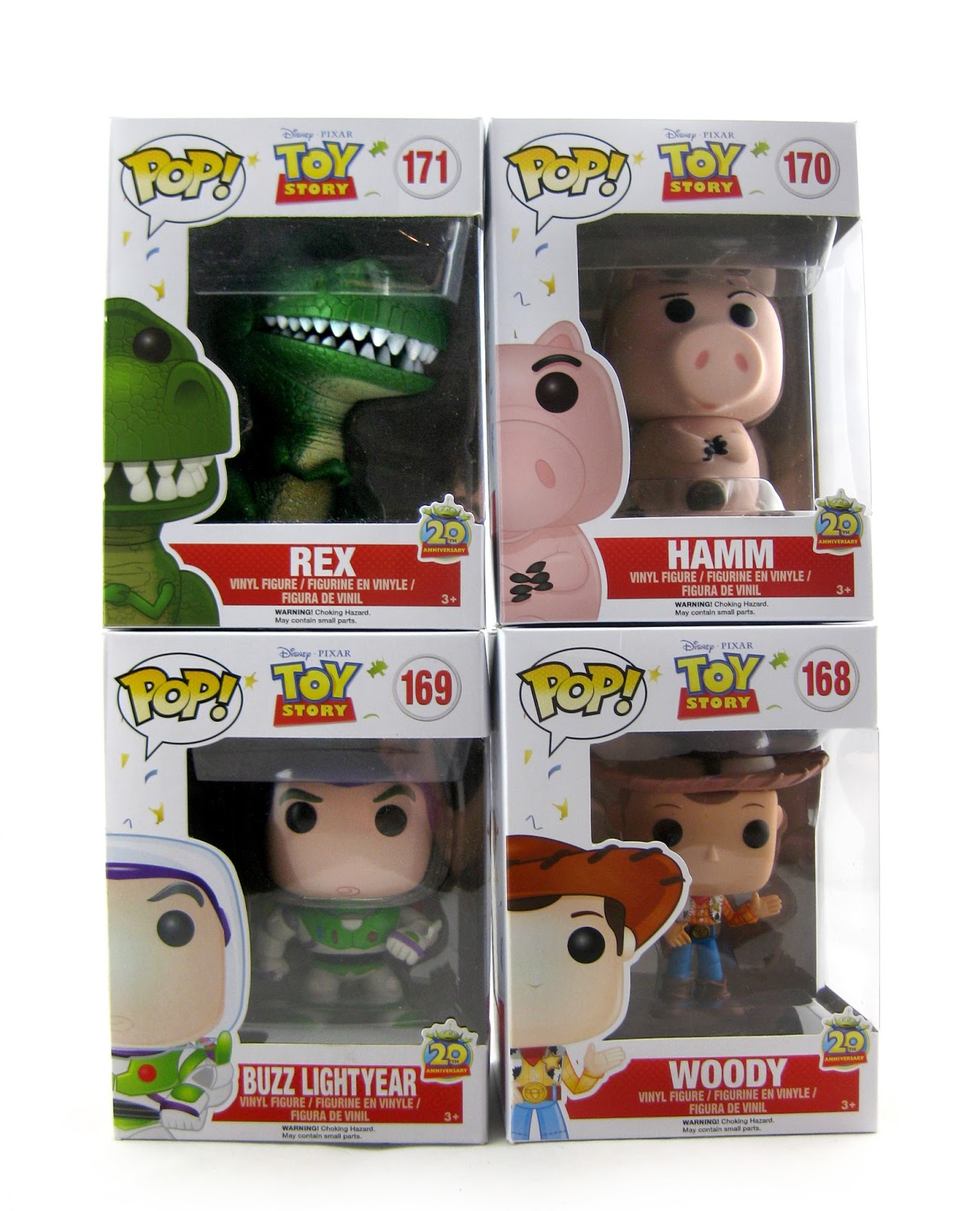 Dan The Pixar Fan Toy Story Funko Pop 20th Anniversary Editions