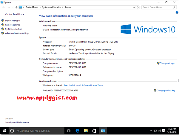 Windows 10 build 1607  All Editions