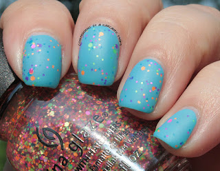 China Glaze Electric Nights Point Me To The Party matte