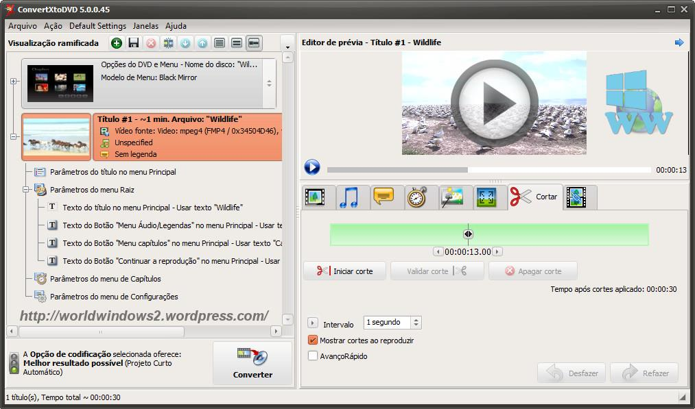ConvertXtoDVD 5.1.0.14 Screenshot
