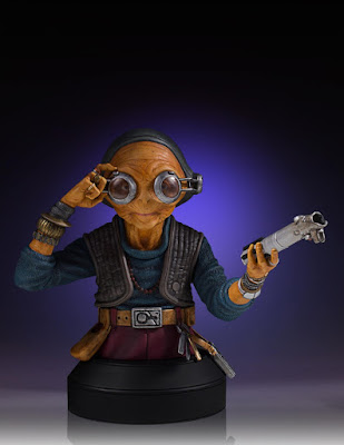 Star Wars: The Force Awakens Maz Kanata Mini Bust by Gentle Giant