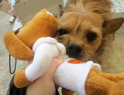 Jada with a max toy