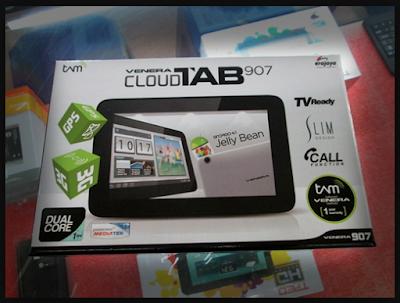 Venera Tab Cloud Prime ~ Tablet 10 inch 700 ribuan Ram 1 GB Batere Tahan Lama