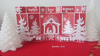 846. White Christmas (2) in red:)
