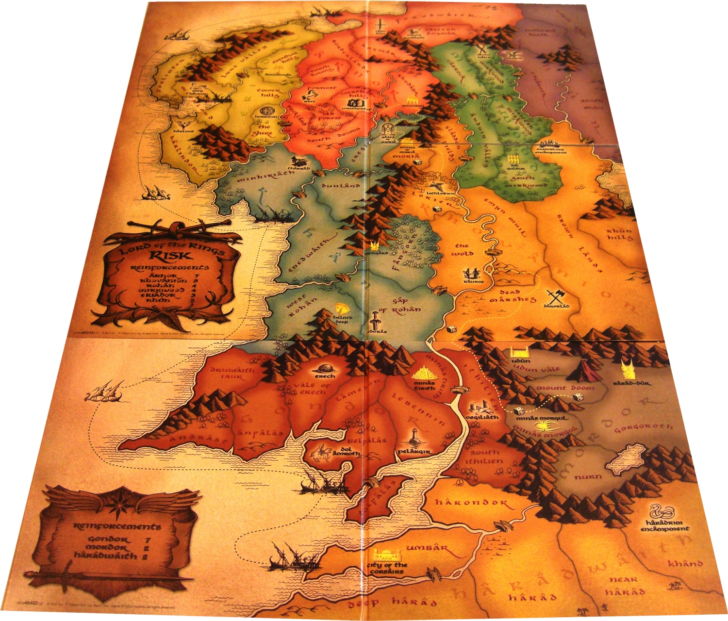 play lord of the rings risk online