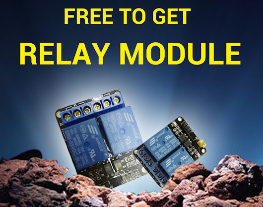 Free to get 2 channel Relay Module