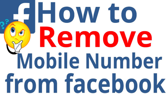 Remove My Phone Number From Facebook