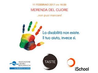 La Merenda del Cuore ...non puoi mancare 11 febbraio Bergamo
