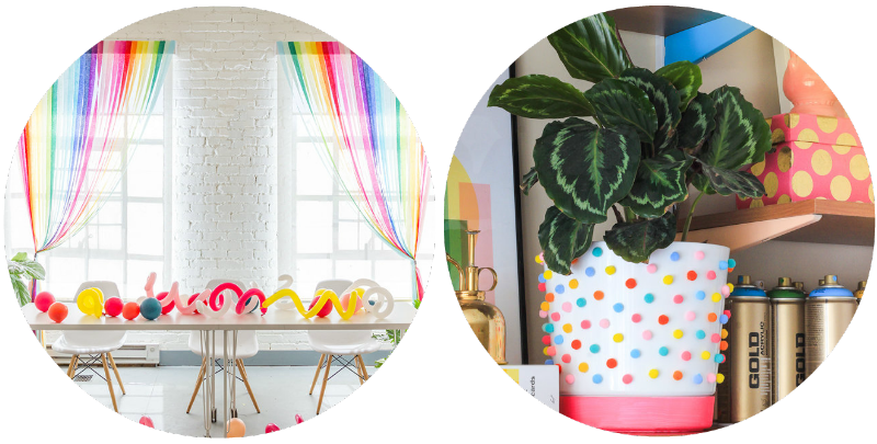 CRICUT-GIVEAWAY-SPRING-DIY-RAINBOW-STREAMER-CURTAINS-THE-HOUSE-THAT-LARS-BUILT-POM-POM-PLANTER-CRAFTED-LIFE-BLOGGER