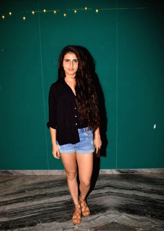 Actress Fatima Sana Shaikh Hot Legs Thighs Show Photos