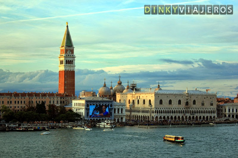 Venecia. Campanille de San Marcos y Palacio Ducal