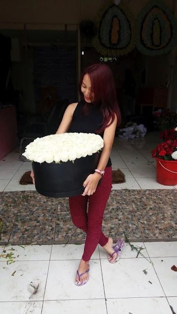 florist daerah surabaya, jual flower box surabaya, harga flower box surabaya