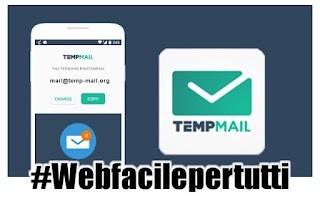 Temp Mail | Applicazione per creare indirizzi e-mail temporanei, sicuri, anonimi, gratuiti ed usa e getta