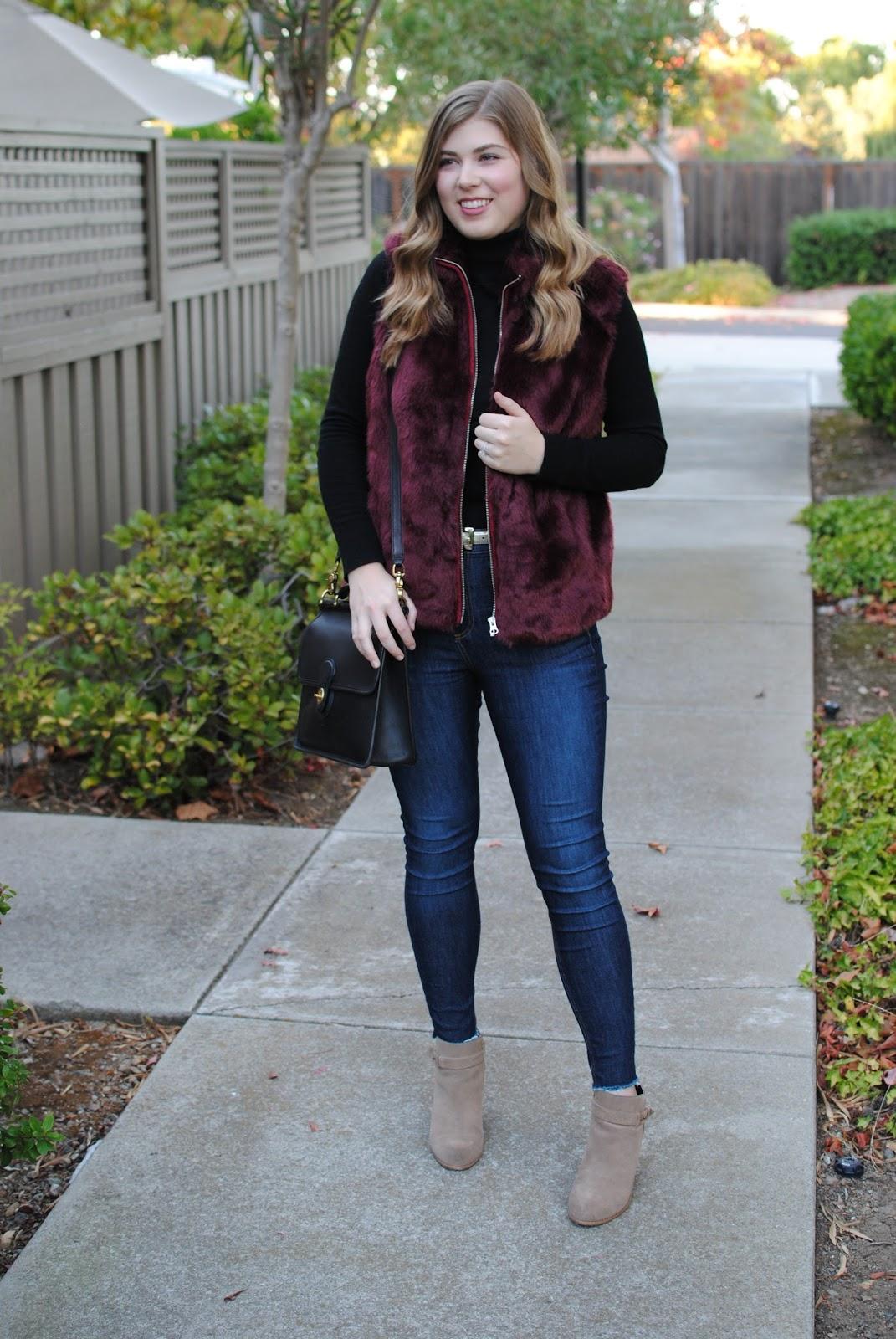 jcrew-faux-fur-burgundy-vest