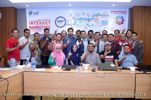 IIBF Medan Gelar Workshop Internet Marketing