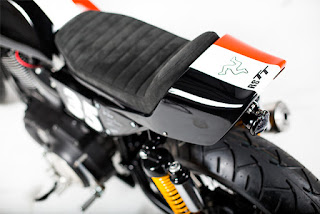 sportster 1200 tt racing by rsm seat