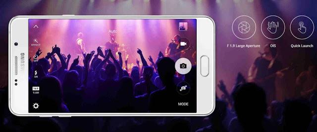 Samsung Galaxy A7 2016 Camera