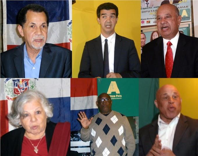 Líderes y activistas comunitarios respaldan candidato a diputado en ultramar  de Alianza País