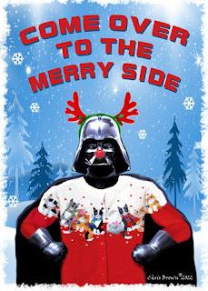 Christmas Darth Vader