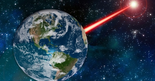 laser technology could be fashioned into earth s porch light to attract alien astronomers study finds