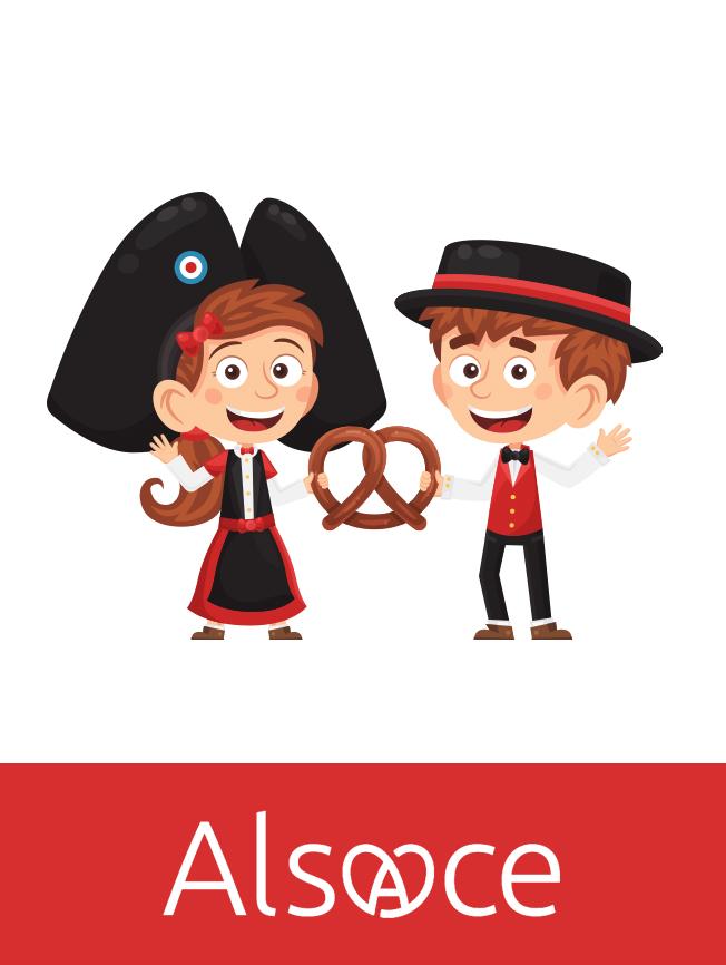 Création personnage bande-dessinée Alsaciens