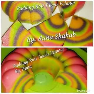 Rainbow Pudding Recepi