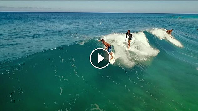 Seth and Josh Moniz - Drone Surfing