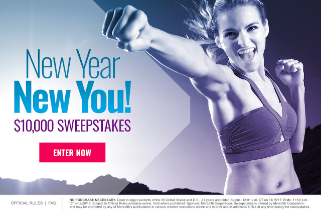New Year $10,000 Sweepstakes