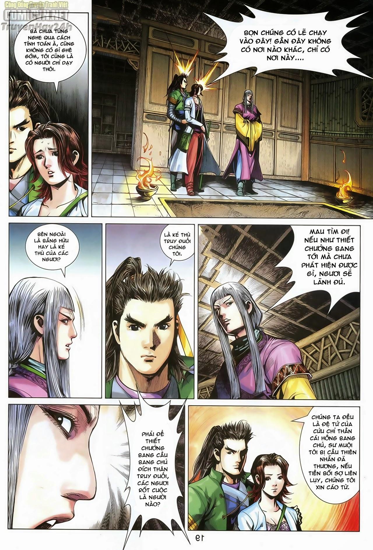 Anh Hùng Xạ Điêu anh hùng xạ đêu chap 70: hắc chiểu ẩn nữ trang 20