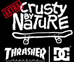 thrasher magazine x dc shoes ©