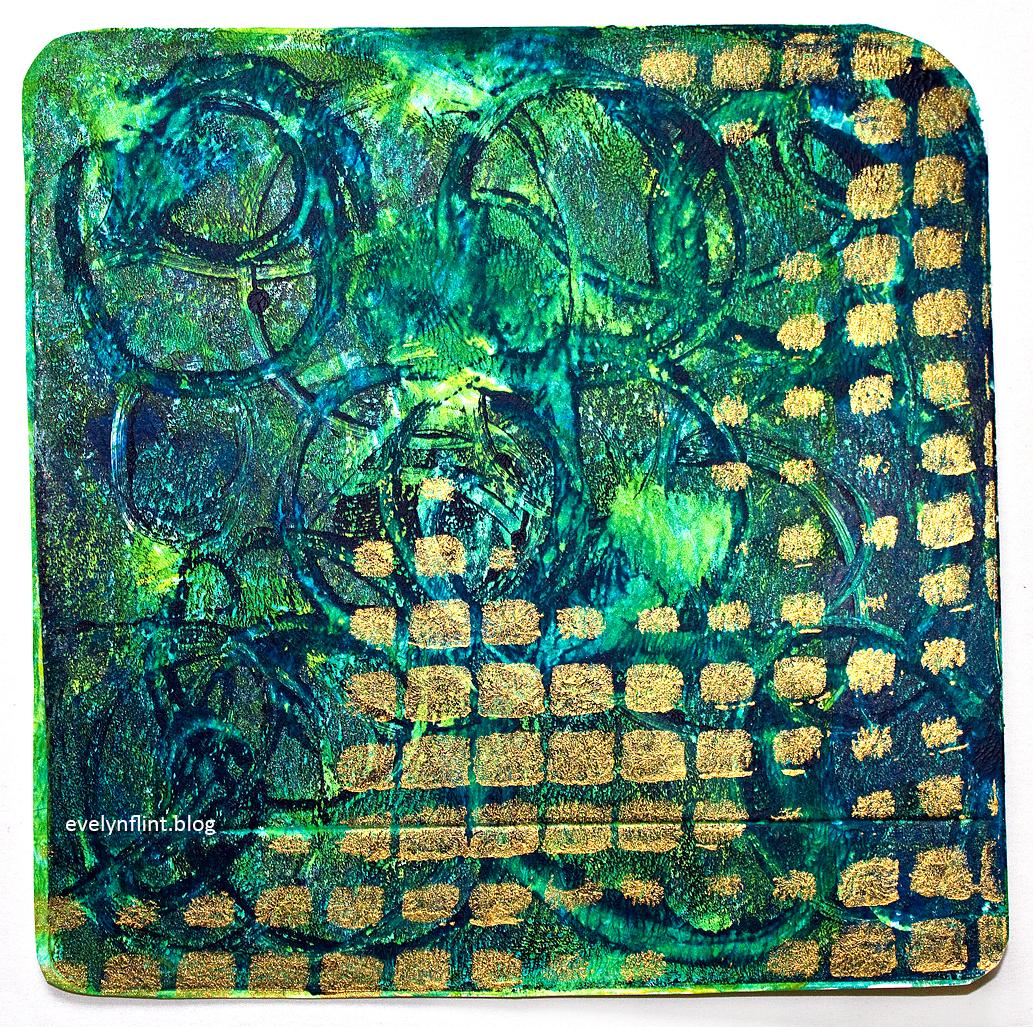 Aztec Gold Print