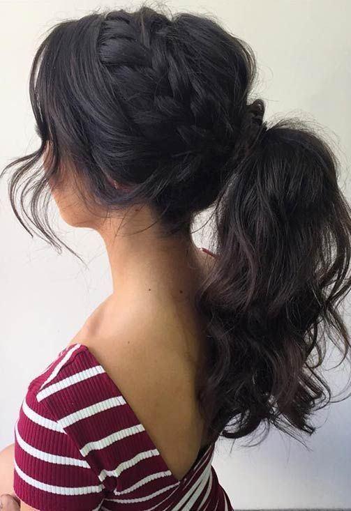 best ponytail for long hair
