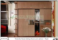 Lemari minimalis unit cabinet rak Smart