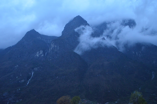 Three Giant Peaks, Lachung, North Sikkim