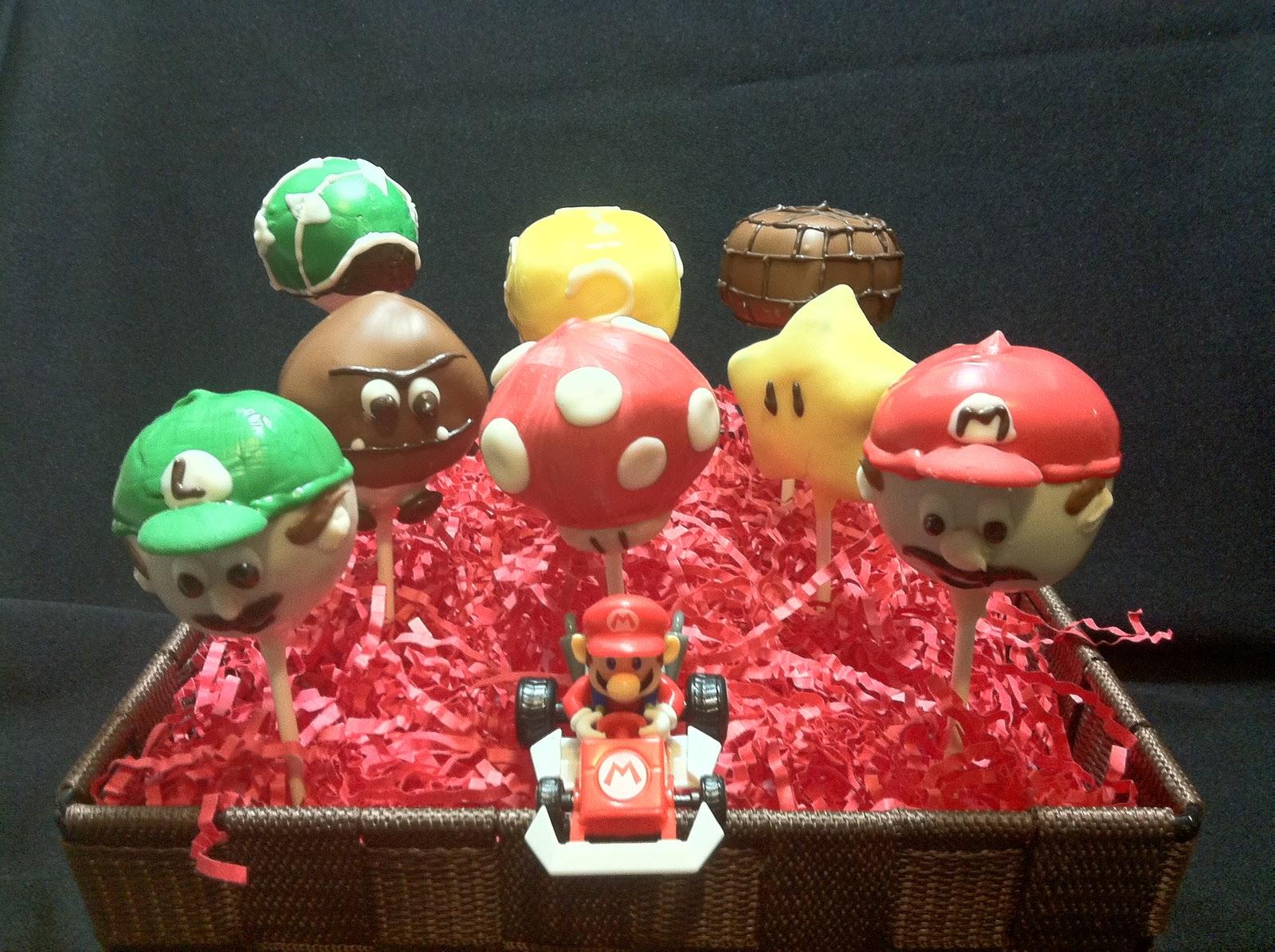 Sweet Tooth Cake Pops Super Mario Bros Cake Pops