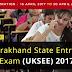 Uttarakhand State Entrance Exam  (UKSEE) 2018