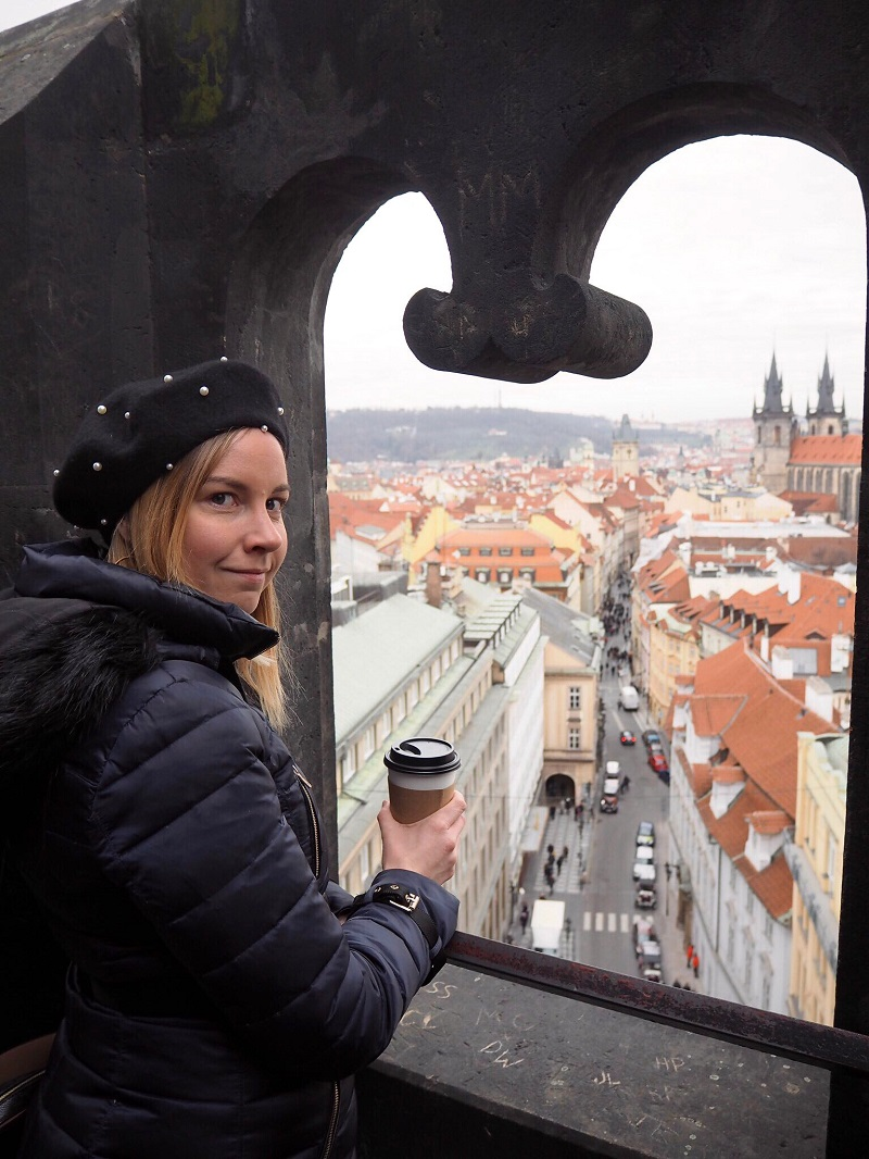 View from the Powder Tower Prague