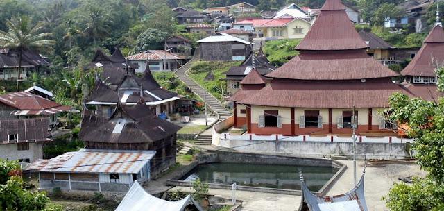 Arti Taratak, Dusun, Koto di Minangkabau