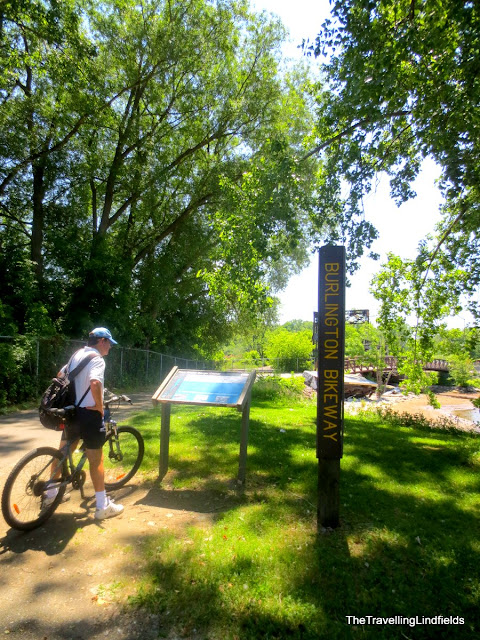 The Island Line Trail: Burlington Bikeway