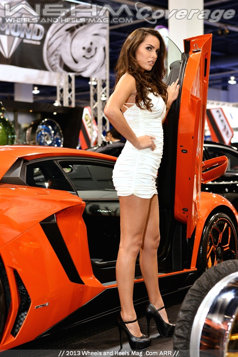 Constance Nunes For Savini Of Girls Of Sema By Wheels And Heels Mag