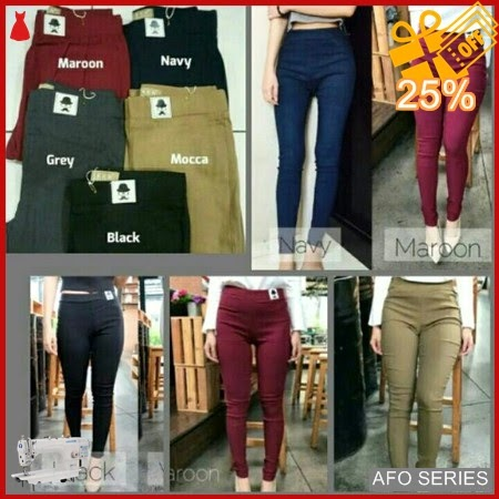AFO035 Model Fashion Jegging Kumis Modis Murah BMGShop