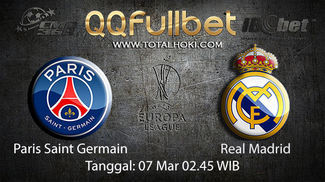 BOLA88 - PREDIKSI TARUHAN BOLA PARIS SAINT GERMAIN VS REAL MADRID 7 MARET 2018 ( UEFA CHAMPION LEAGUE )