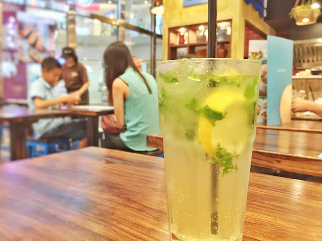 Pho Street - Lemon Cooler with Peppermint and Basil