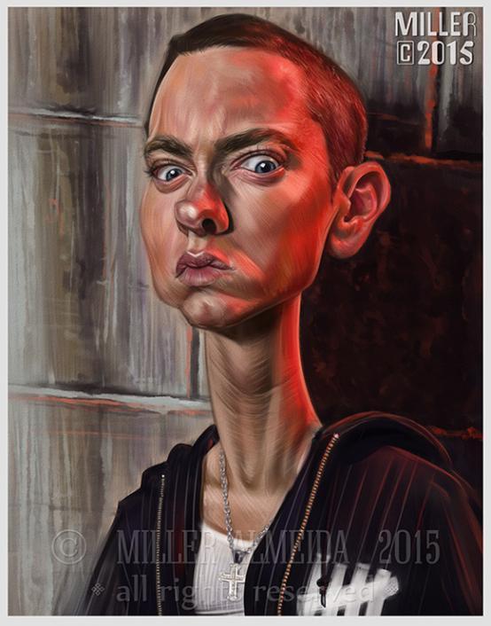 Eminem por Miller Almeida